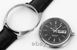 1972 OMEGA Seamaster Automatic Day Date Stainless Steel Vintage Mens Wrist Watch