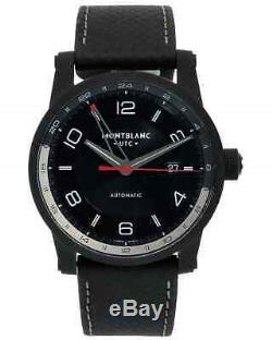 3 DAY SALE! 73% OFF! Montblanc Timewalker GMT Automatic Mens Watch 113876