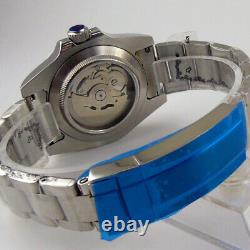 40mm BLIGER black dial miyota 8215 NH35A Automatic mens Watch sapphire glass