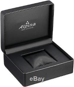 Alpina Startimer Men's AL-525G4TS6 Automatic Black Leather Strap 44mm Watch