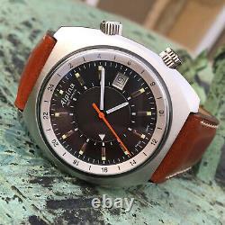 Alpina Startimer Pilot Heritage Automatic GMT Wrist Watch 42mm