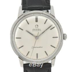 Auth Vintage OMEGA Seamaster Silver Dial Cal. 552 Automatic Men's Watch B#91230