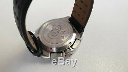 Authentic Bell & Ross Space 3, black dial, automatic chronograph mens watch