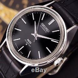 Authentic King Seiko Hi-beat Date Ref. 5621-7022 Black Dial Automatic Mens Watch