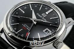 BNIB Rare Grand Seiko HiBeat GMT Automatic SBGJ01G with full warranty
