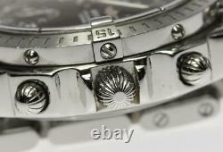 BREITLING Chronomat A13352 Chronograph Black Dial Automatic Men's Watch 551003