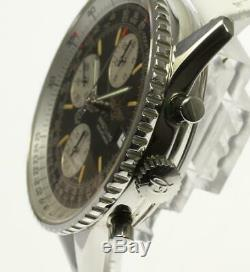 BREITLING Old Navitimer A13022 Automatic Leather Belt Men's Watch 506314