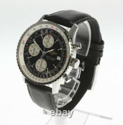 BREITLING Old Navitimer A13324 Chronograph Automatic Leather Men's Watch 469230