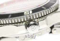 BREITLING Super Ocean 42 A17364 Black Dial Automatic Men's Watch 555968
