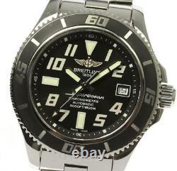 BREITLING Super Ocean A17364 black Dial Automatic Men's Watch 542659