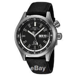 Ball Men's Engineer Master Black Dial Black Nylon Automatic Watch DM1022A-N3J-BK