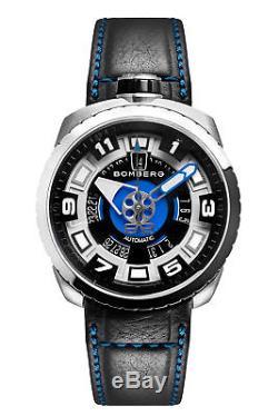 Bomberg BS45ASS. 045-1.3 Men's Bolt-68 Swiss Automatic 45mm Blue Watch