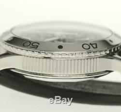 Breguet Type XX-3800 AERONAVALE Chronograph Automatic Leather Men's Watch 480640