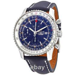 Breitling Navitimer 1 Chronograph Automatic Blue Dial Men's Watch A24322121C2X1