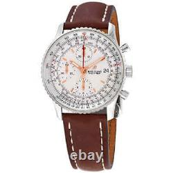 Breitling Navitimer 1 Chronograph Automatic Brown Leather Men's Watch