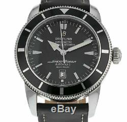 Breitling Superocean Heritage 46 Black Dial Automatic Men's Watch A17320