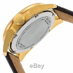 Bulova 64B127 Men's Accu-Swiss Tellaro Gold-Tone Automatic Watch