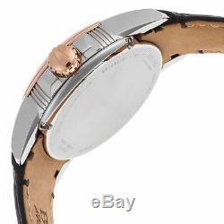 Bulova Accu Swiss Made Automatic Calibrator 65B154 Mens Watch Rose Gold NEW