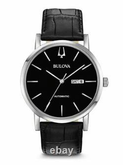 Bulova American Clipper Men's Automatic Day/Date Indicator 42mm Watch 96C131