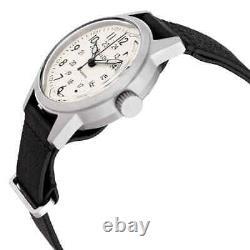 Bulova Hack Automatic Ivory Dial Men's Watch 96A246