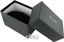 Bulova Men's Automatic Skeleton Exhibition Caseback Brown 42mm Watch 96A120