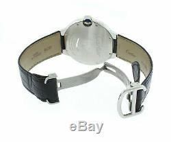 Cartier Ballon Bleu Automatic Silver Dial Men's 42mm Watch W69016Z4