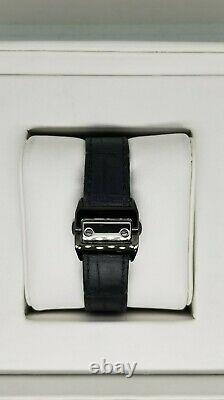Cartier Men's W2020010'Santos' Black Cloth Watch