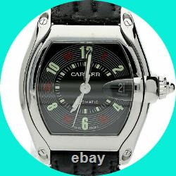 Cartier Roadster Las Vegas Roulette dial watch #200994CE 43x 38MM date automatic
