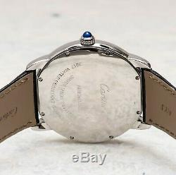 Cartier Ronde Solo XL Large Men's Automatic Stainless Steel 3517 W6701010