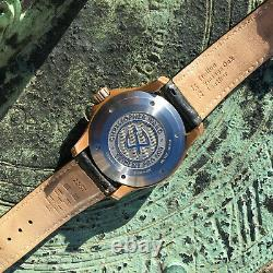 Christopher Ward C60 Trident Pro 600 Bronze Automatic Dive Watch 43mm