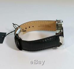Citizen Mechanical Automatic Black Leather Elegant Men's Watch NH8350-08A