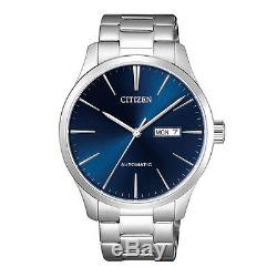 Citizen NH8350-83L Men Automatic Stainless Steel Analog Watch