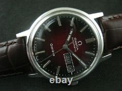 Classic OMEGA GENEVE Automatic Date Men's Watch Nice Rare Collection
