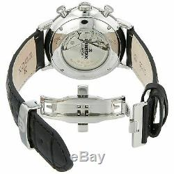 Edox 011203AIN Men's Les Bemonts Silver-Tone Automatic Watch