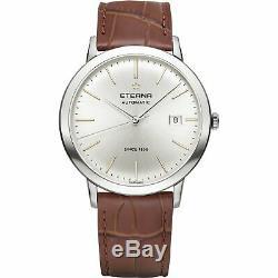 Eterna Men's 2700.41.11.1384 Eternity 40mm Automatic Silver Dial Watch