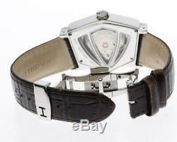 Excellent! HAMILTON Ventura H245150 Skeleton Automatic Men's Watch 416453