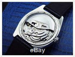 Excellent Mens GRAND SEIKO HI-BEAT 36000 Steel Blue Dial Automatic / 6146-8000