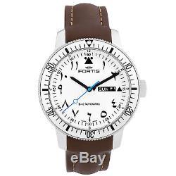 Fortis B-42 Marinemaster Al Tayer Men's Automatic Watch Swiss 786.11.62 L18