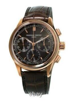 Frederique Constant Geneve Flyback Men's Automatic 42mm Watch FC-760DG4H4