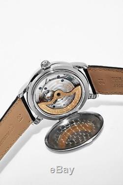 Frederique Constant Men's Classics Black Leather Strap Automatic Watch FC715S4H6