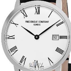 Frederique Constant Men's Slimline Silver Dial Swiss Automatic Watch FC306MR4S6