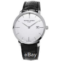 Frederique Constant Slimline Men's FC-306S4S6 Automatic Silver Date 40mm Watch
