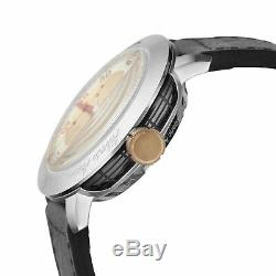 Gevril Men's 1100 Alberto Ascari Automatic Limited Edition Leather Date Watch