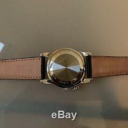Glycine Airman No1 GMT Automatic Watch 3956.19. LB9U Black Dial 40mm GL0162