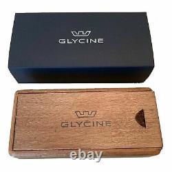 Glycine GL0118 Men's Combat Classic Chronograph Black Automatic Watch