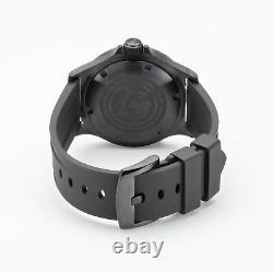Glycine GL0269 Men's Combat Sub Vintage Automatic 42mm Black PVD Watch