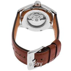 Glycine Incursore Brown Dial Automatic Men's Leather Band Watch 3922.17P. LBK7H