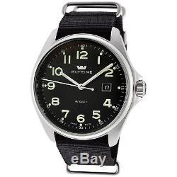Glycine Men's 3890.19AT. TB9 Combat 6 Automatic Black Dial Black Strap
