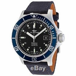Glycine Men's 3908.191. BD1. TBA8 Combat Sub Automatic 42mm Black Dial GL0 Watch