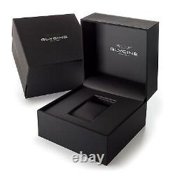 Glycine Men's GL0188 Combat Sub 42 Bronze Automatic 42mm Brown Dial Watch